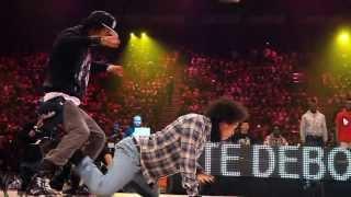 Les Twins Vs Lil'O & Tyger B Juste Debout 2011 Semi Final