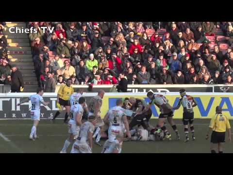 Exeter Chiefs TV   James Hanks pre Quins