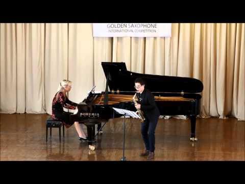 Golden Saxophone 2015 – Zu Lingrui – Jeno Takacs , Two fantastics