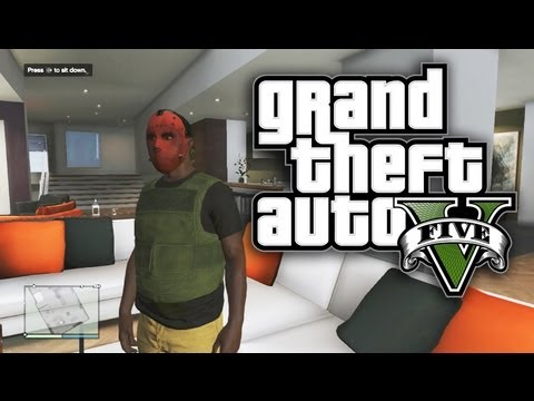 GTA 5 Online - $400,000 APARTMENT TOUR / GTA Online CRIBS! (GTA V),