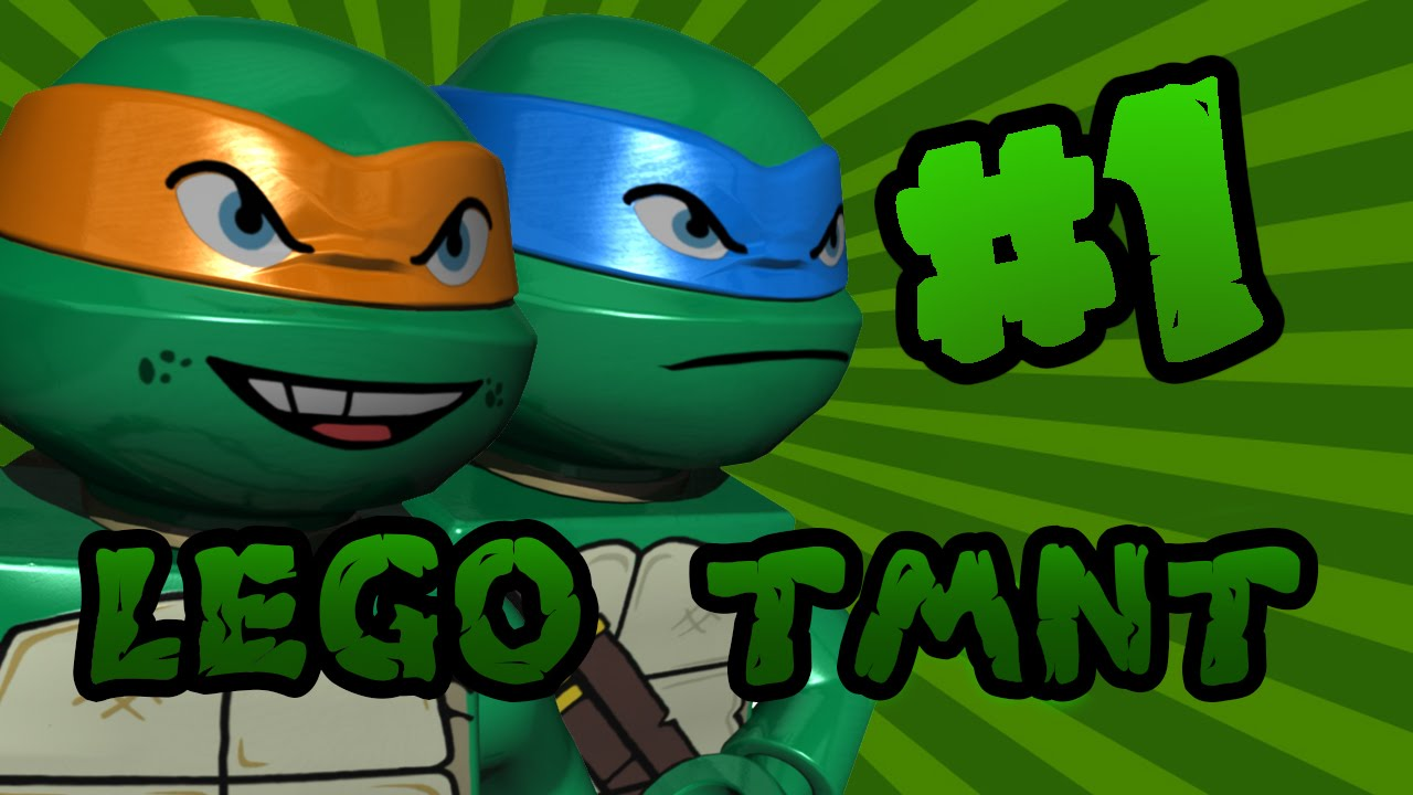 teenage mutant ninja turtles lego games online