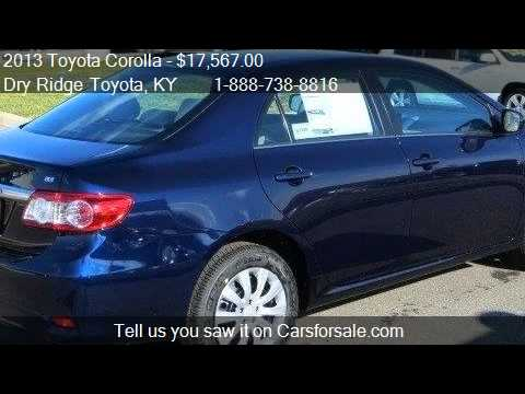 2013 Toyota Corolla LE - for sale in Dry Ridge, KY 41035