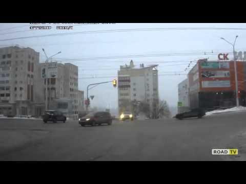 15 декабря Уфа ,  момент с ДТП