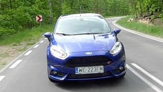 (ENG) 2013 Ford Fiesta ST Test Drive And Review