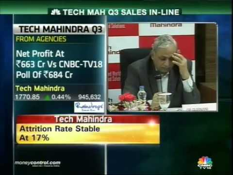 Tech Mahindra Q3 net profit up 38% on exceptional gain -  Part 2