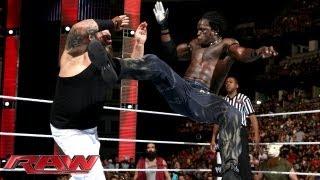 R-Truth Vs. Bray Wyatt: Raw, August 19, 2013
