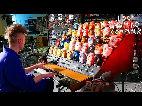 Furby Musical Organ: Terrifyingly Awesome. Do not feed after Midnight!