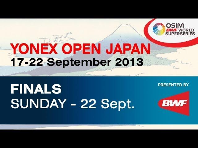FINAL -- WD -- C. Pedersen / K. Rytter Juhl vs. Ma J. / Tang JH -- 2013 Yonex Open Japan