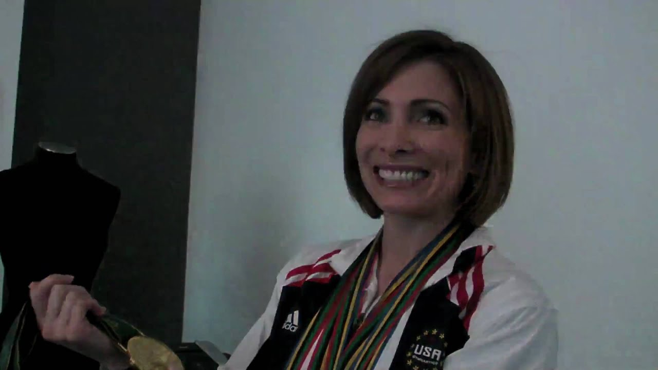 Shannon Miller Olympic Medals - YouTube