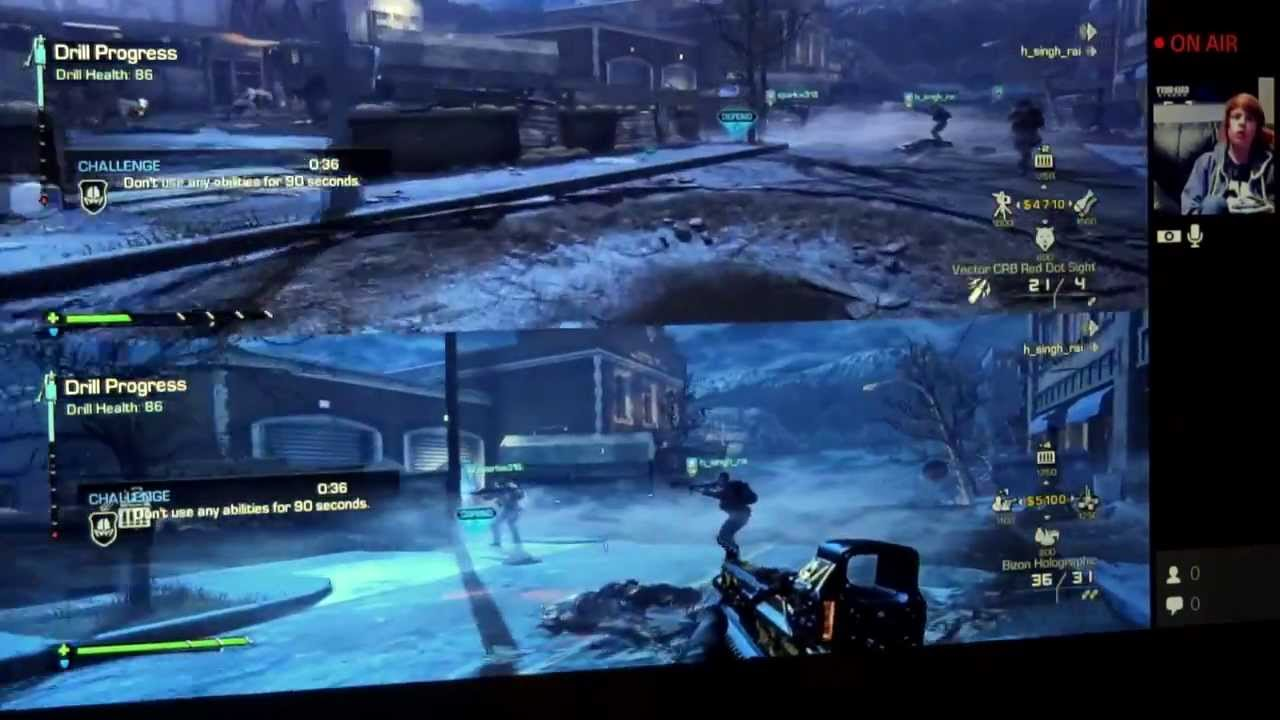 call of duty 3 ps4 4 player split screen