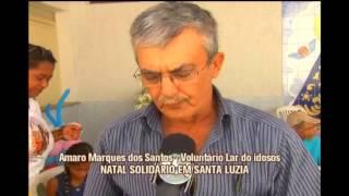 Domingo foi de divers�o no Natal Solid�rio em Santa Luzia