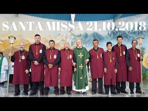 Santa Missa | 21.10.2018 | Padre José Sometti | ANSPAZ