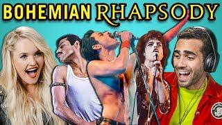 Adults React To Bohemian Rhapsody Trailer (Queen/Freddie Mercury Movie)
