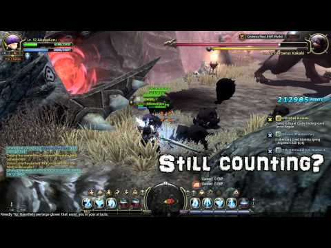 Dragon Nest SEA - Lvl32 Cerberus Nest Hell Solo Guide 2/2 [HD]