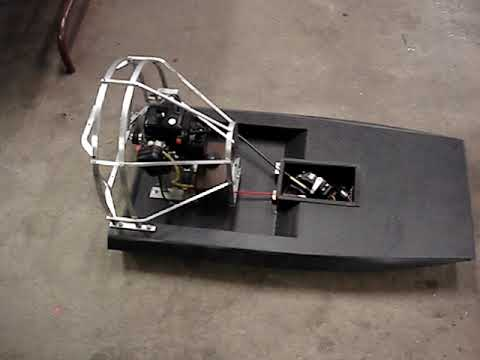 "First run RC Airboat ""Velocity"" - YouTube"