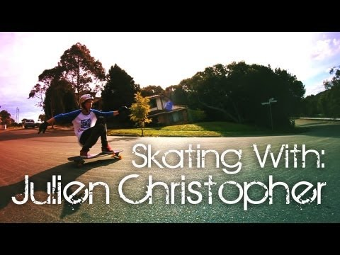 Skating With: Julien Christopher