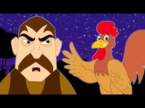The Thieves and The Cock - Aesop's fables -GYvr39FZctg
