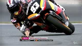 Marc Marquez 2012 Moto2™ World Champion