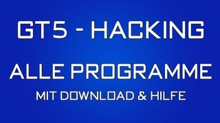 Gran Turismo 5 Hacking Programme Download Und Hilfen