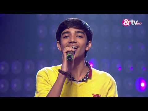 Nirvesh Dave - Performance - Blind Auditions Episode 9 - January 7, 2017 - The Voice India Season2