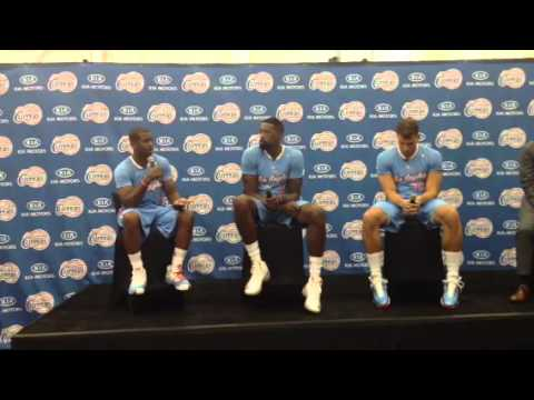 Blake Griffin, DeAndre Jordan and Chris Paul