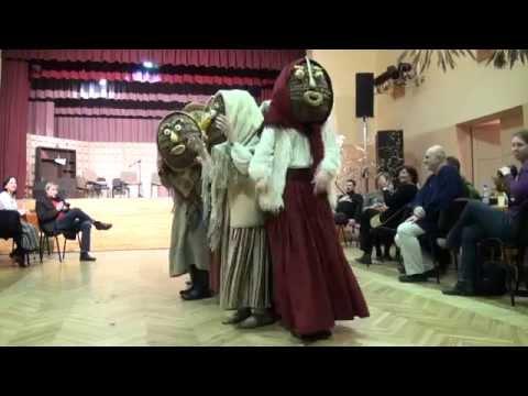 XVI International Mask Tradition Festival, 2015. Individual mask presentations and dances.