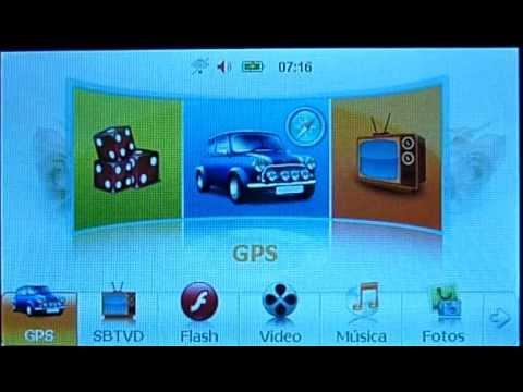 Cartão de Memória para GPS Slimway