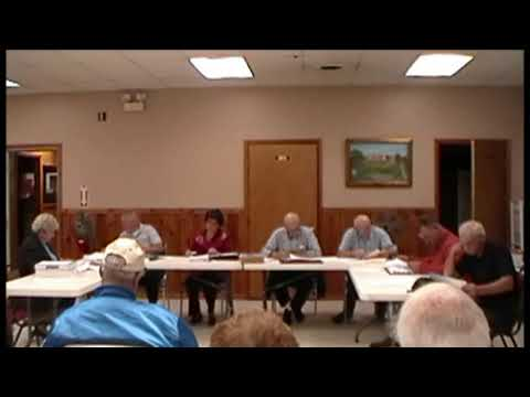 Altona Town Board Meeting 10-15-12