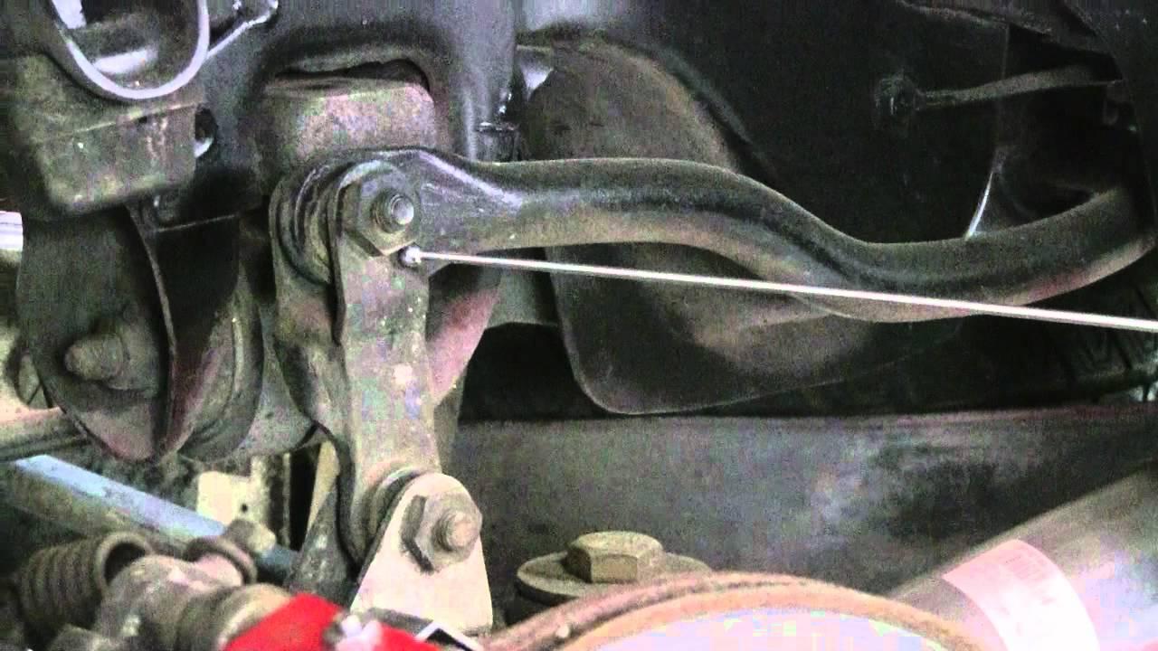 1994 corvette rear sway bar bushing install problems