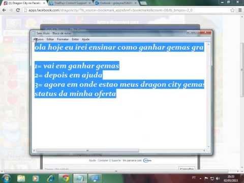 COMO GANHAR GEMAS GRATIS NO DRAGON CITY (SEM PROGRAMAS)