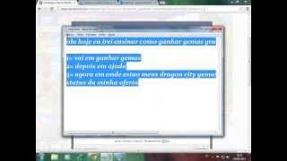 COMO GANHAR GEMAS GRATIS NO DRAGON CITY (SEM PROGRAMAS