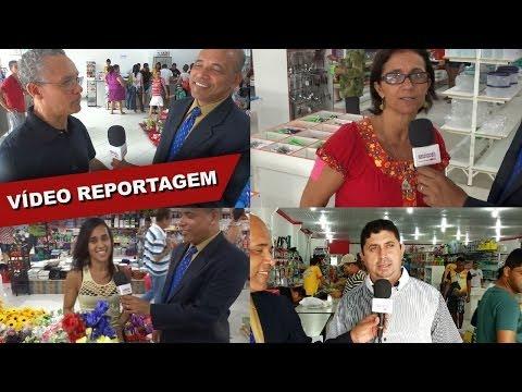 Inaugurada a maior e mais nova loja de utilidades de Medeiros Neto, SHOPPING DAS UTILIDADES