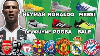 Ultimate Football Lineups! Which Soccer Team Has The Best Boots?