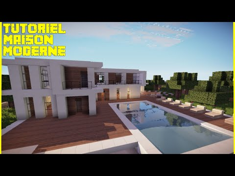 [TUTO] Grande maison moderne dans Minecraft
