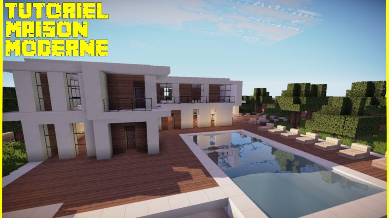 Tuto maison moderne en bois minecraft for Construisez votre propre maison moderne