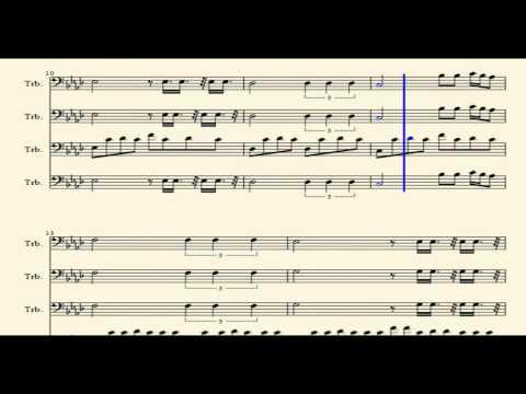Sonic Boom Trombone Quartet