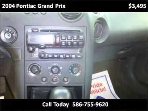 2004 Pontiac Grand Prix Used Cars Detroit MI