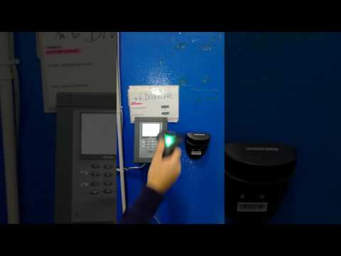 Gestione commesse con TBS5000RF-PRO lettura CCD barcode e tag rfid per ID dipendete