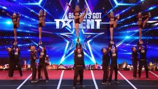 They Show Everyone What Cheerleader Could Be! AMAZING   Week 6   Britain's Got Talent 2017