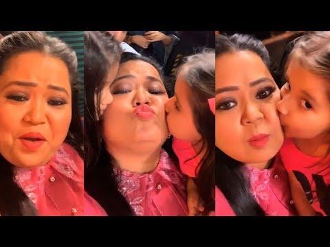 "Bharti Singh's FUNNY Video With CUTE Babies Of Karanvir Bohra While Shooting ""Khatra Khatra Khatra"""