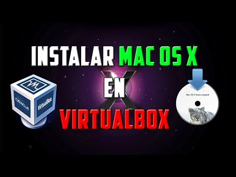 Como Instalar Mac OS X Snow Leopard en VirtualBox