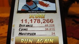 Temple Run 2 High Score 11 Million!!! (iPhone, IPod Touch