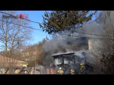 Riverhead New Year's  Day house fire