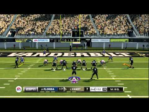 NCAA Football 2014: Gator Battling a Commodore!