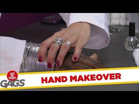 Full Hand Makeover Prank - Kézcsere
