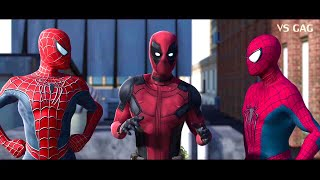 Spider-man: Homecoming VS AMAZING SPIDERMAN ft Deadpool (parody)