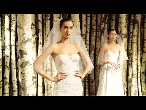Naeem Khan Bridal Spring 2015 -- New York Bridal -- Backstage, Interviews & Runway | Videofashion