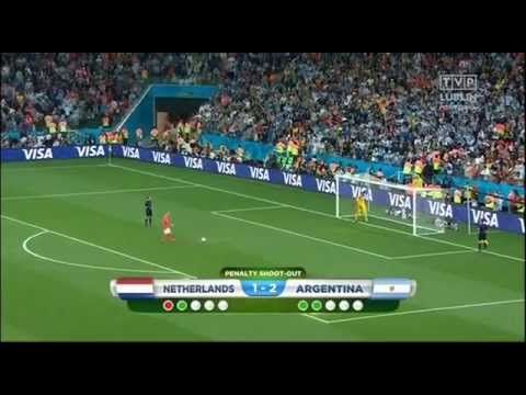 Holandia - Argentyna Rzuty Karne MŚ 2014 | Holland - Argentina Penalty Shootout World Cup 2014
