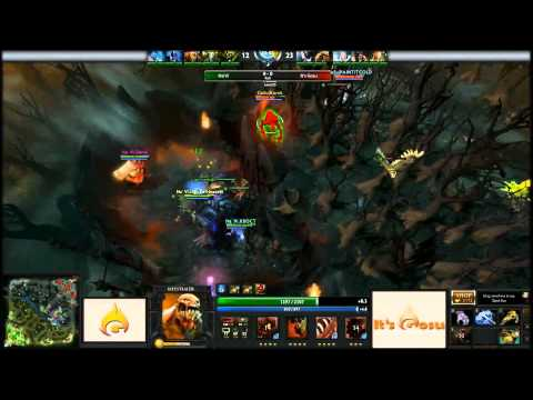 Dendi Carry Earthshaker vs It's Gosu @ IG Monthly Madness