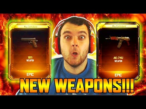 NEW SUPPLY DROP OPENING - M1911 & AK74u REMASTERED IN BLACK OPS 3 MULTIPLAYER! (BO3 Guns)